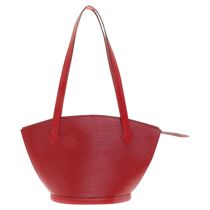 "Louis Vuitton ""Saint Jacques Epi Leder"" in Rot"
