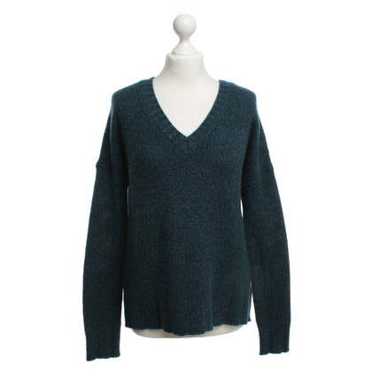 360 Sweater Cashmere pullover in teal