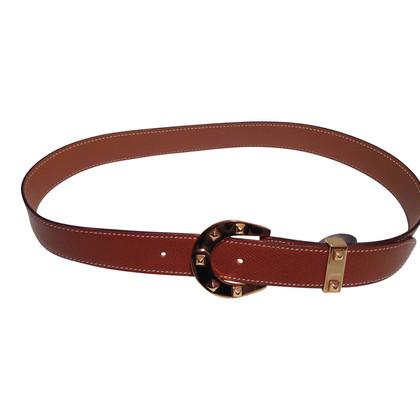 Hermès Belt with Horseshoe buckle