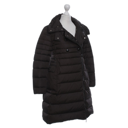Moncler Down jas in Bruin