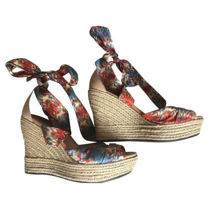 UGG Australia sandales d'été, coloré, plate-forme