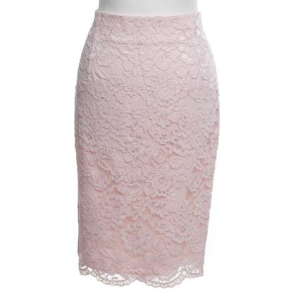 Set Pink lace skirt