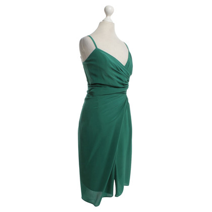 Dsquared2 Silk dress in green