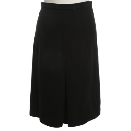 Miu Miu Black skirt with pleat