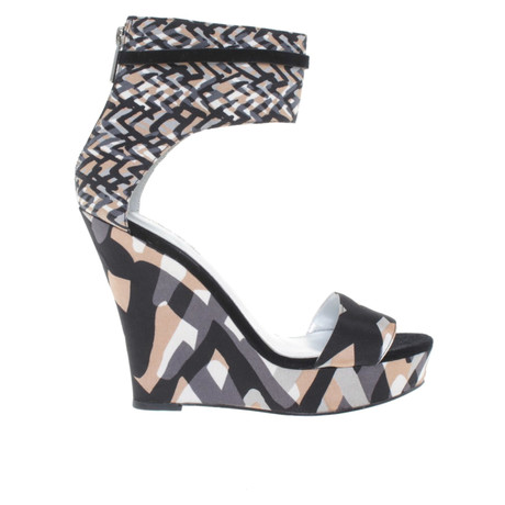 Print Wedges DKNY mit Wedges Bunt DKNY mit Print Muster Bunt TpSBqw