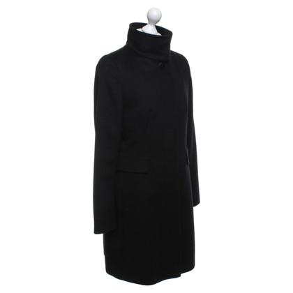 Max Mara Cappotto in lana in nero