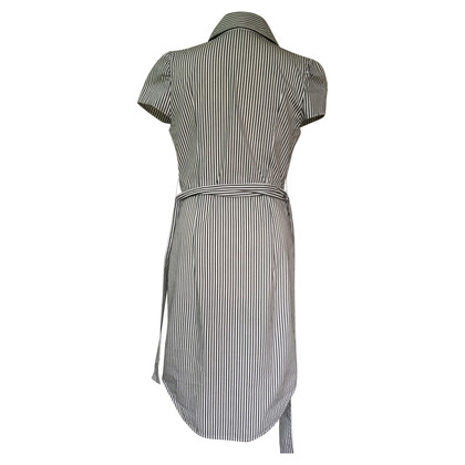 Vivienne Westwood Striped dress with lapel collar