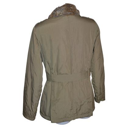 Woolrich coat bontkraag