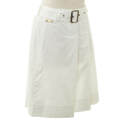 Burberry skirt in white