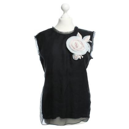 Lanvin top in black