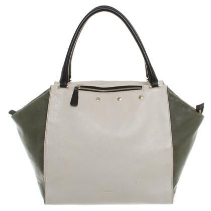 Furla Handbag in Olive / Beige