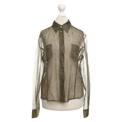 Strenesse Patterned blouse in green