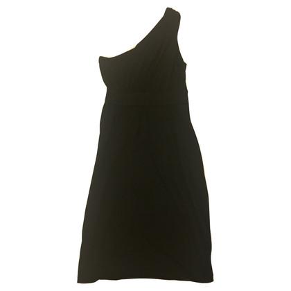 Diane von Furstenberg Schwarzes One-Shoulder-Kleid