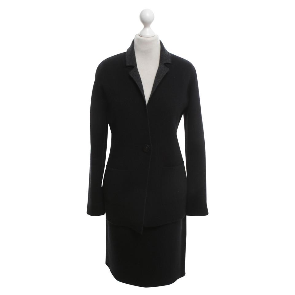 Iris von Arnim Kashmir kostuum in zwart