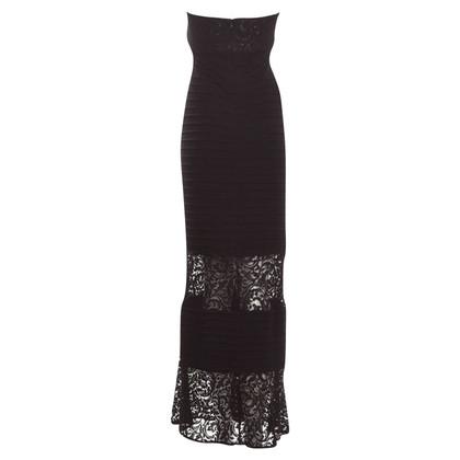 Calvin Klein Bandeau-jurk in zwart