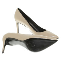 Saint Laurent Lacklederpumps in Beige