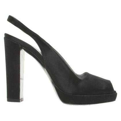 Prada Peep-toes in black