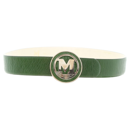 Missoni Green leather belt