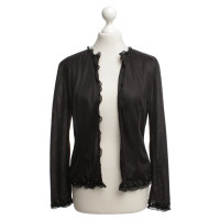 Miu Miu Ruffled blouse in black