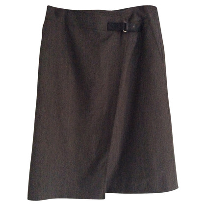 Bogner Pencil skirt with decorative buckle