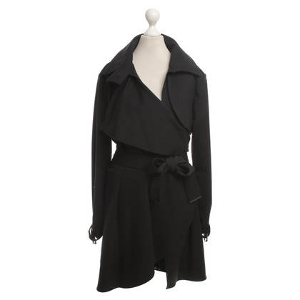 Ferre Trench coat in nero