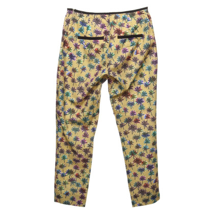 Schumacher trousers with a floral pattern