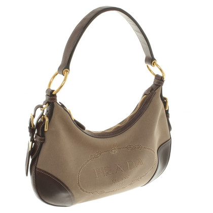 Prada Schoudertas Brown