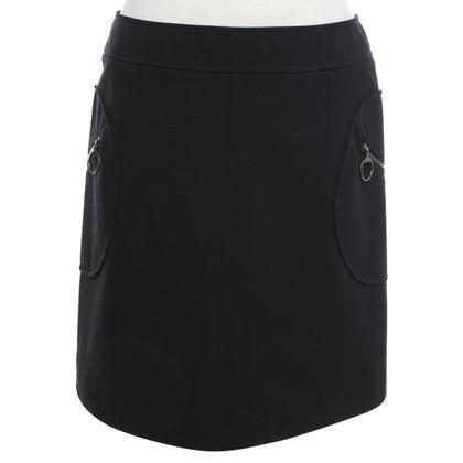 Prada skirt in black