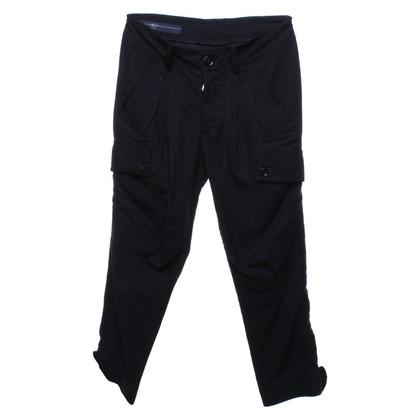 High Use Pantaloni in blu-nero