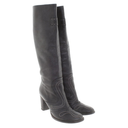 Marc Cain Boots in Dark Grey