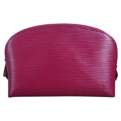 Louis Vuitton Cosmetic bag made of Epi leather