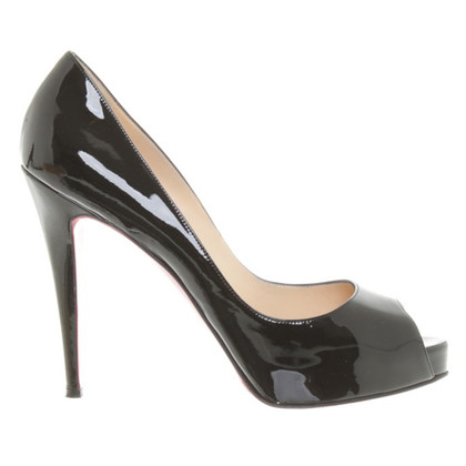 Christian Louboutin Zeer prive 120 in zwart