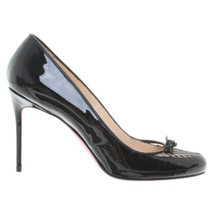 Christian Louboutin pumps vernice / top