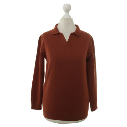 Bottega Veneta Cashmere sweater in rust