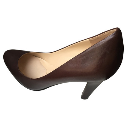 Ralph Lauren brown leather pumps (39)
