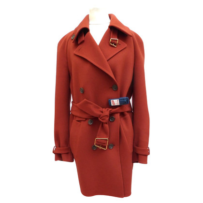 Akris Double-face cashmere coat