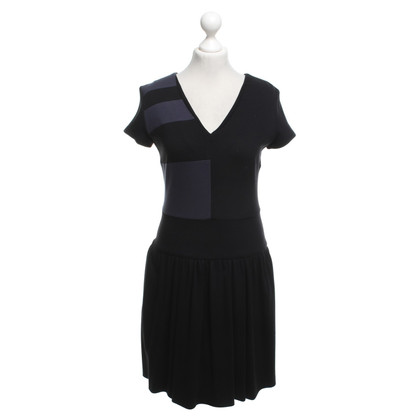 Atos Lombardini Dress in black / blue