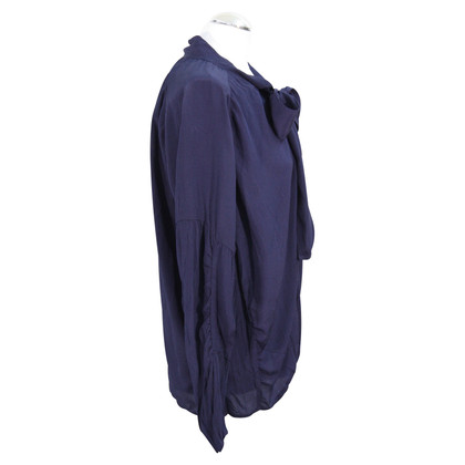 Mulberry Blouse in dark blue