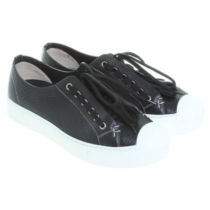 Fendi Sneakers in zwart / wit