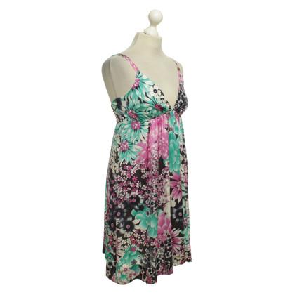 Elisabetta Franchi Kleid mit Blumenmuster