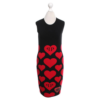 Philipp Plein Dress with heart motif