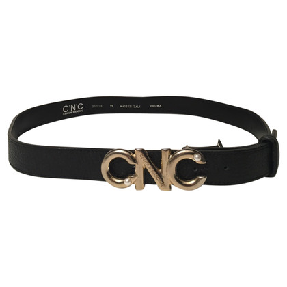 Costume National Logo riem met kralen