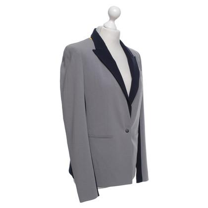 DKNY Blazer in grijs-blauw