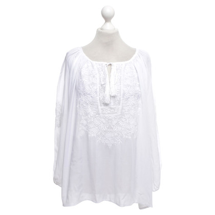 Melissa Odabash Tunic blouse with embroidery