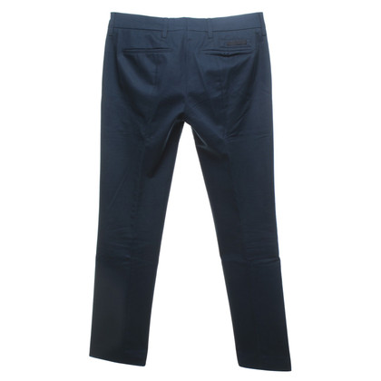 Prada Katoenen broek in donkerblauw