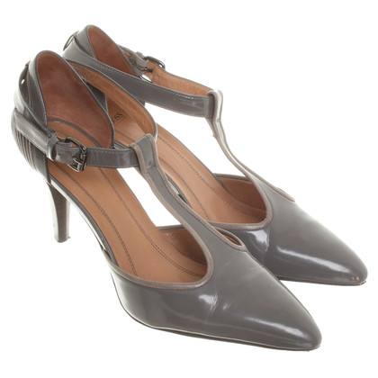 Hugo Boss pumps in pelle grigio