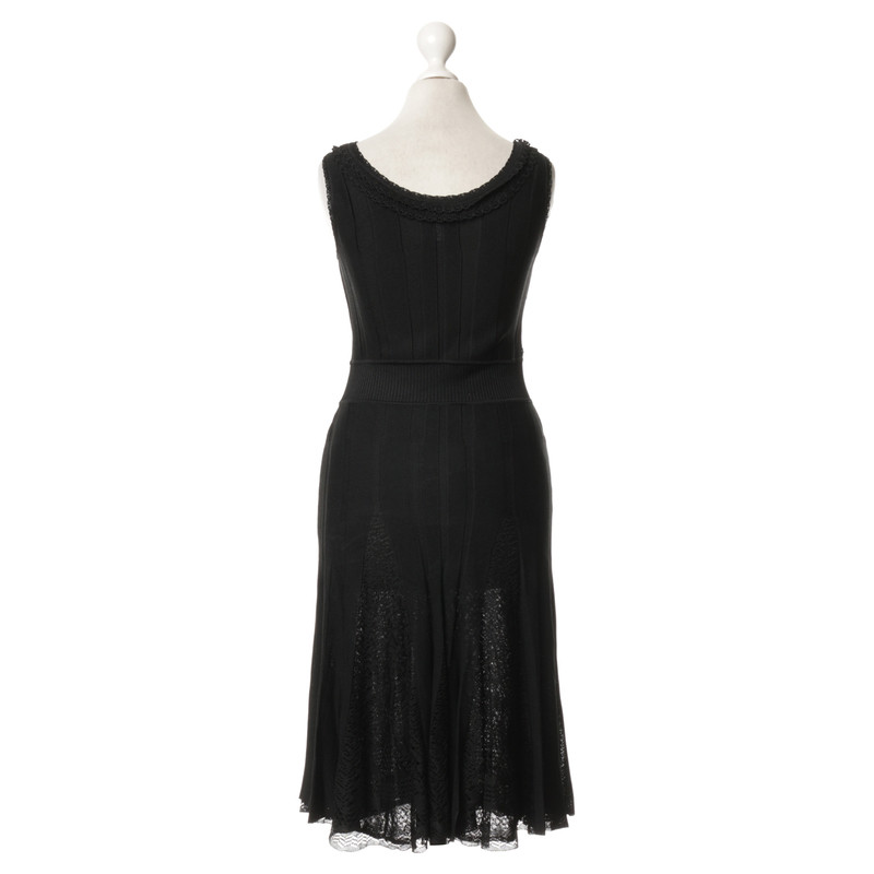 Chanel Kleid in Schwarz - Second Hand Chanel Kleid in Schwarz ...