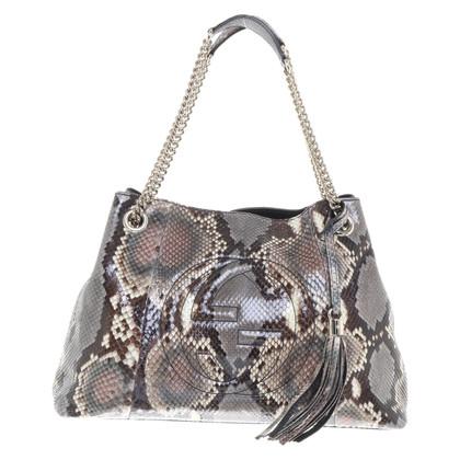 "Gucci ""Soho Bag"" made of python leather"
