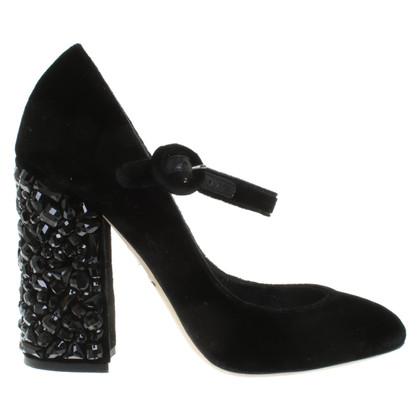 Dolce & Gabbana pumps velluto