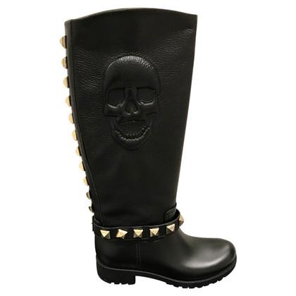 Philipp Plein Philipp Plein Boots Skull & Rivetti